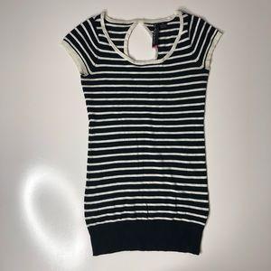 Le Temps de Cerises Knit Striped Luxury Top